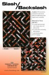 Slash/Backslash quilt pattern