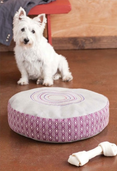 Moroccan Medallion Dog Bed