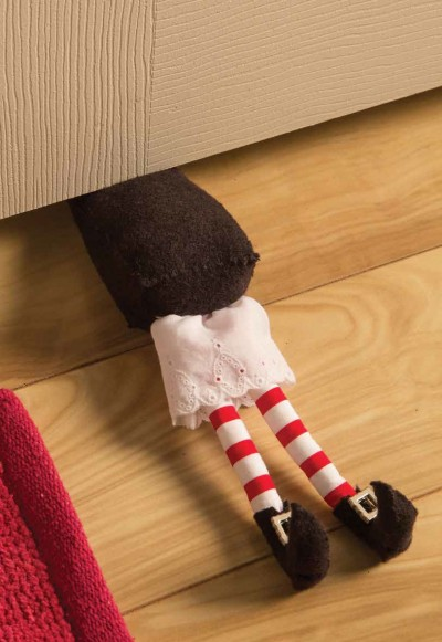 Witch Legs Doorstop