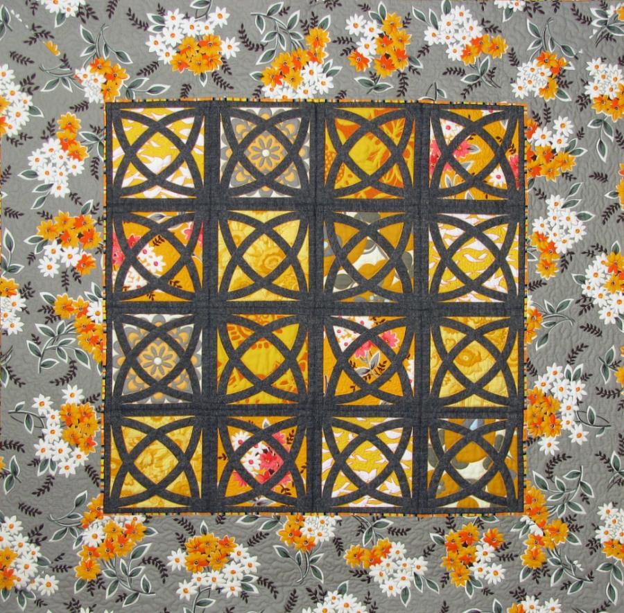 La Fiesta wallhanging from Grey Gardens pattern