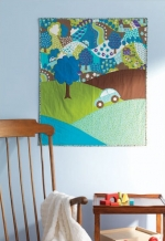 Hilltop Drive Baby Quilt