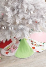 Color-Wheel Tree Skirt
