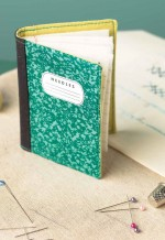 Composition Book Needle Case