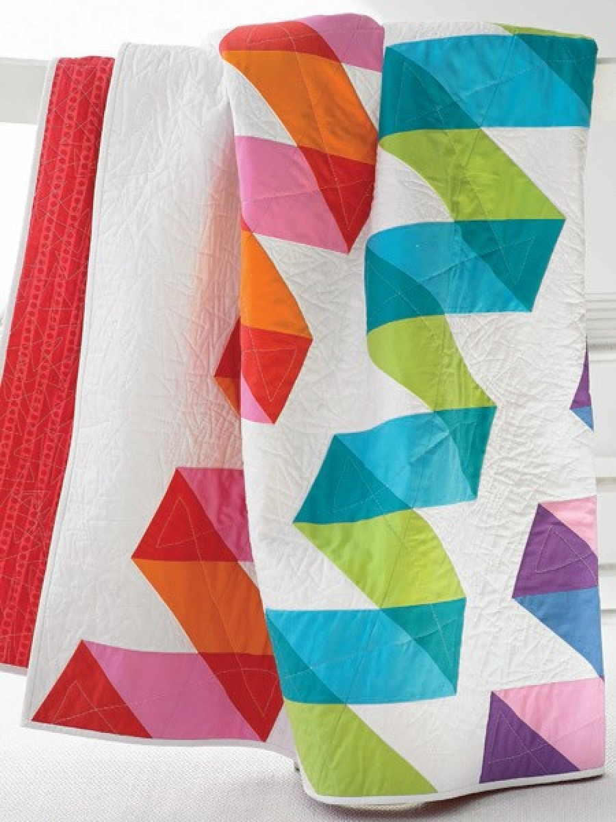 Ribbon Candy Quilt