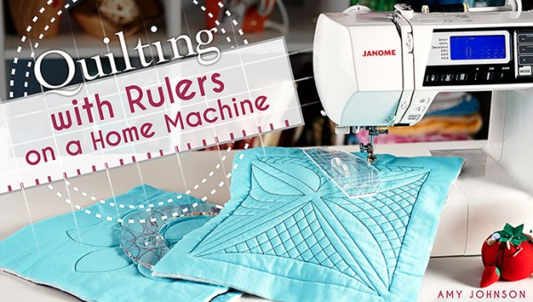 Quilting with Rulers on a Home Machine