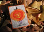 Halloween witch and jack-o'-lantern ATC