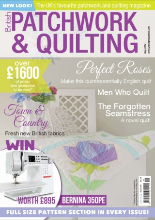 Men Who Quilt in British Patchwork & Quilting