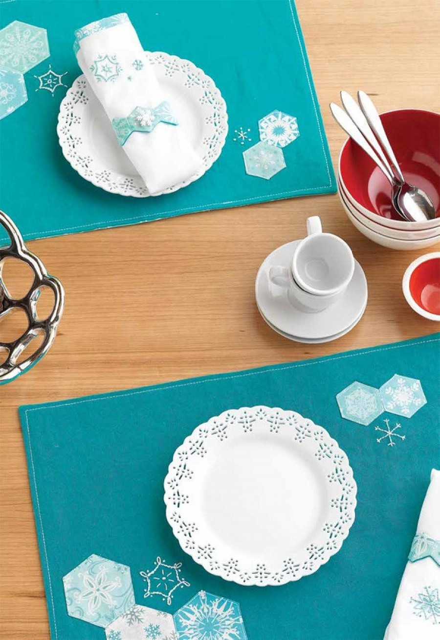 Snowflake Table Linens
