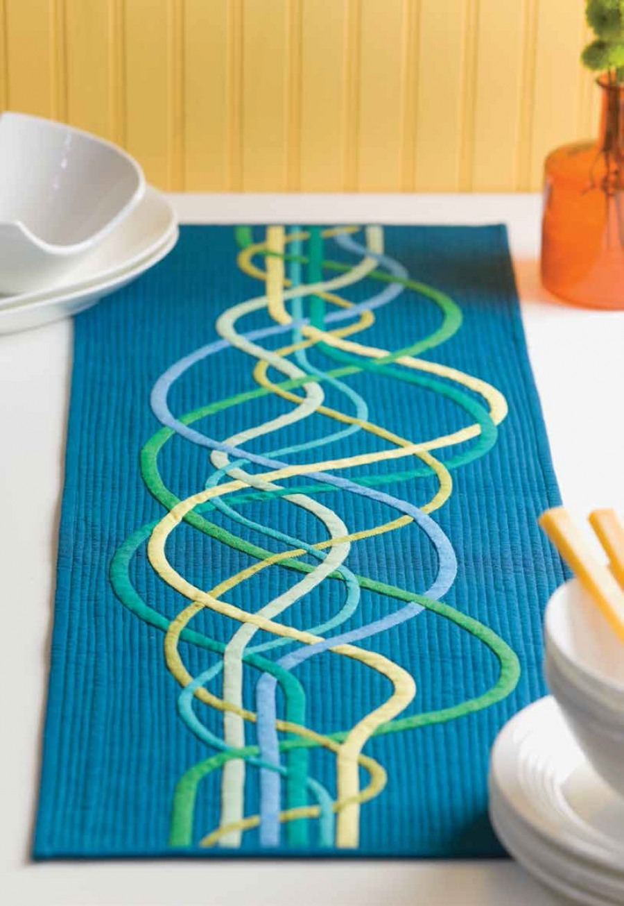 Woven Waves Table Runner