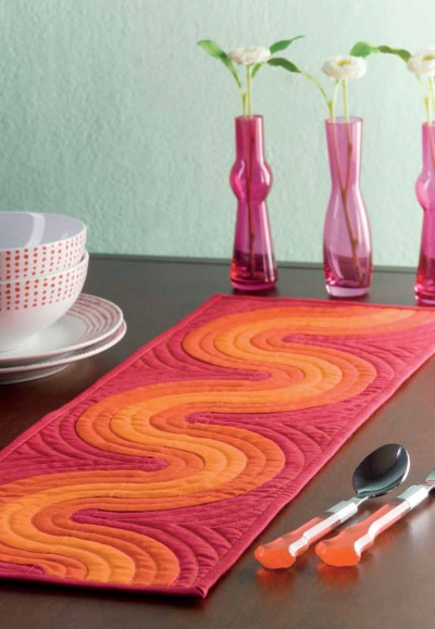 Op Art Table Runner